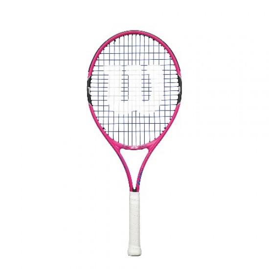 """Детска тенис ракета Wilson Burn 23"""" Pink"""