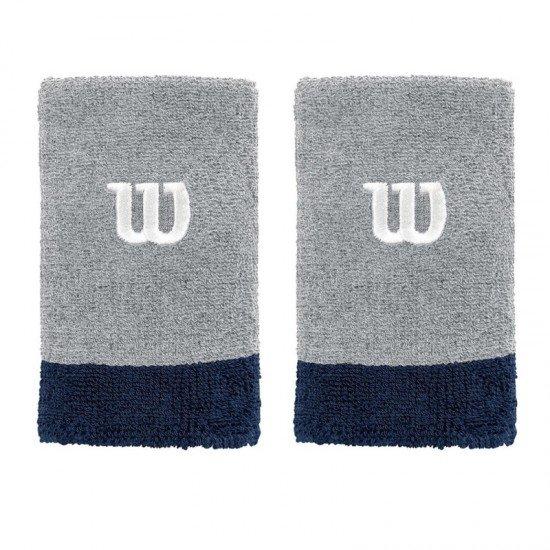Накитник Wilson Extra Wide Wristband Gray