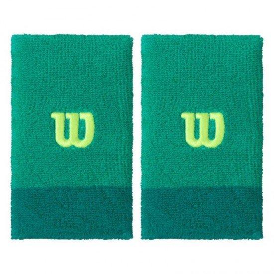 Накитник Wilson Extra Wide Wristband Green