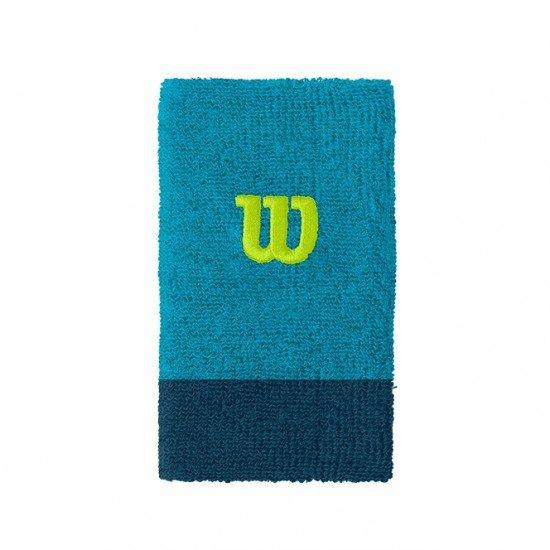 Накитник Wilson Extra Wide Wristband Blue gr