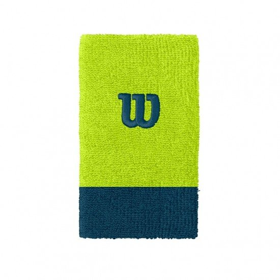 Накитник Wilson Extra Wide Wristband light green