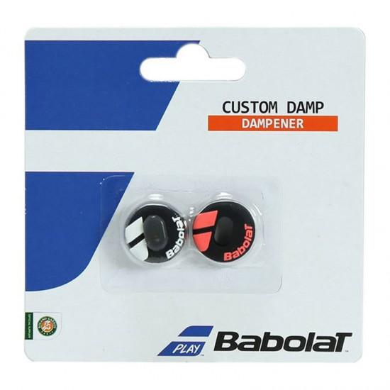 Антивибратор Babolat Custom Damp X2 Black fluo Red