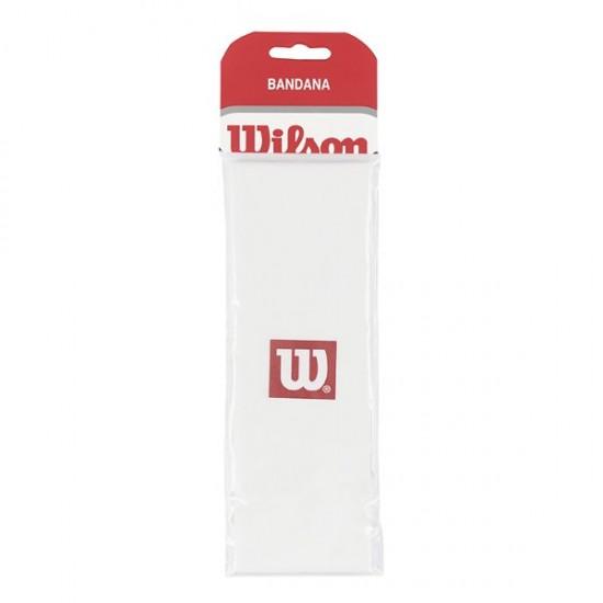 Кърпа за глава Wilson Bandana Бяла