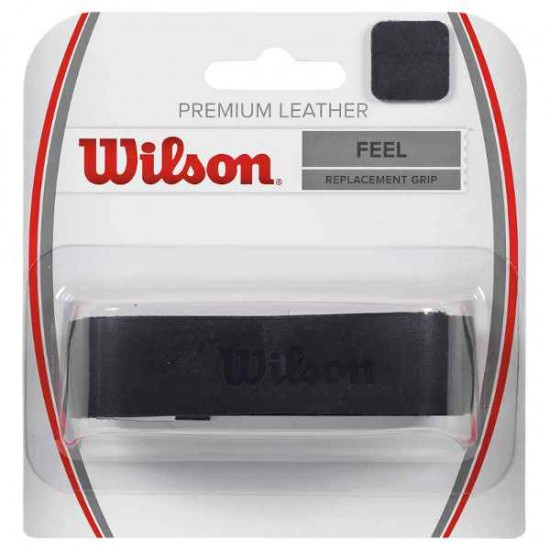 Тенис грип Wilson Premium Leather Black