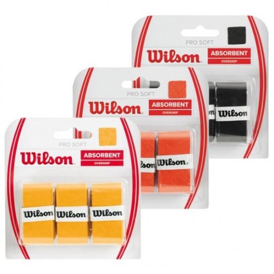 Покривен грип Wilson PRO Soft Overgrip (цветове)
