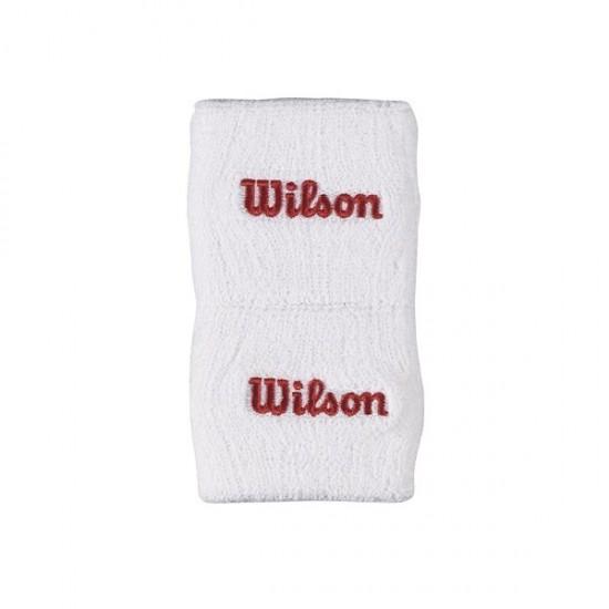 Накитник Wilson Single Wristband White