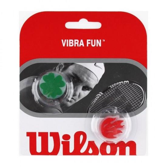 Антивибратор Wilson Vibra Fun Clover/Flame