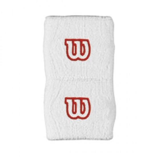 Накитник Wilson W® Wristband White