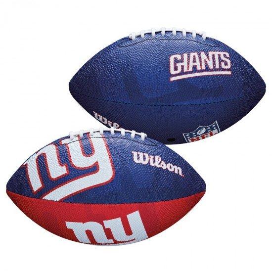 Топка за американски футбол Wilson New York Giants Junior Size