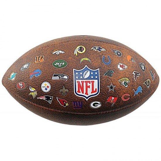 Топка за американски футбол Wilson NFL Off Throwback