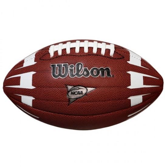 Топка за американски футбол Wilson NCAA Hypergrip Arrow Junior