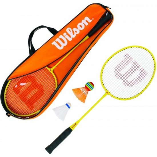 Детски комплект за бадминтон Wilson Badminton Junior Gear Kit