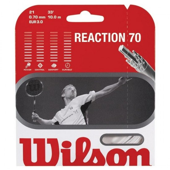 Корда за бадминтон Wilson Reaction 70
