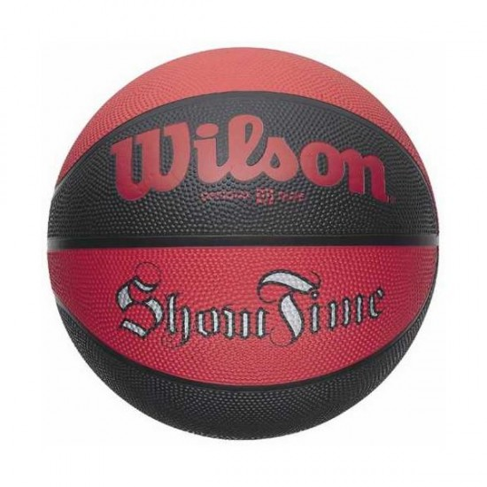 Баскетболна топка Wilson Show Time Red