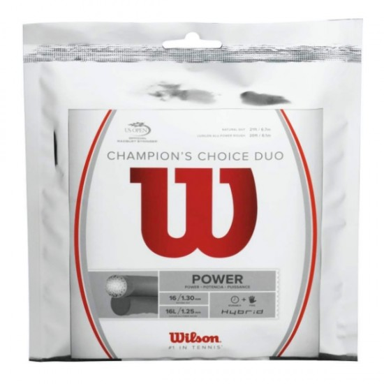 Тенис корда Wilson Champion Choice Duo