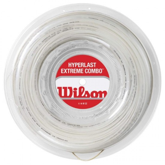 Тенис корда  Wilson Hyperlast Extreme Combo рулон 200м (хибрид)