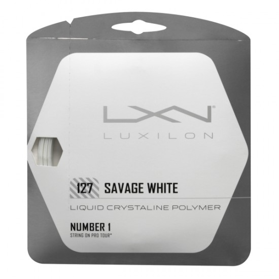 Тенис корда Luxilon Savage White