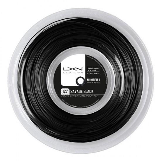 Тенис корда Luxilon Savage Black Reel