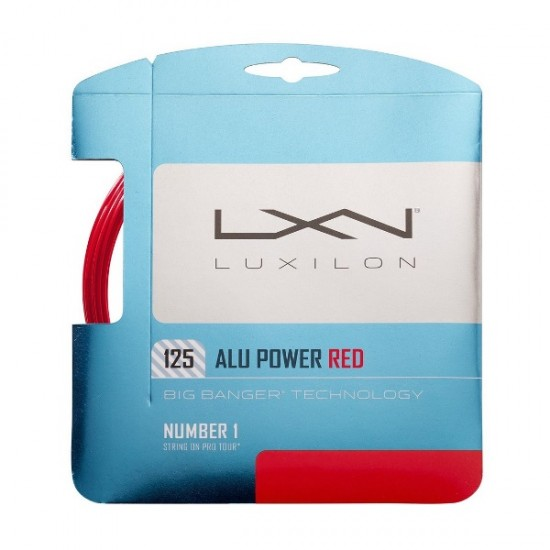 Тенис корда Luxilon ALU Power Red