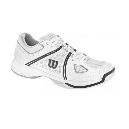 Мъжки маратонки за тенис Wilson NVISION WH/GY/COAL WIL