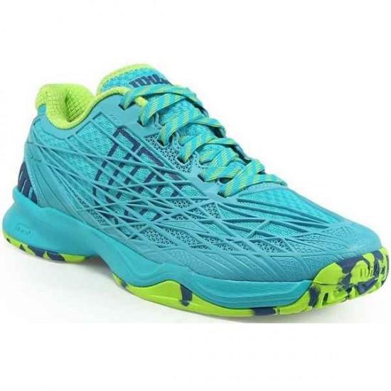 Дамски маратонки за тенис Wilson KAOS Woman TEAL BLUE /TEAL BLUE /GR