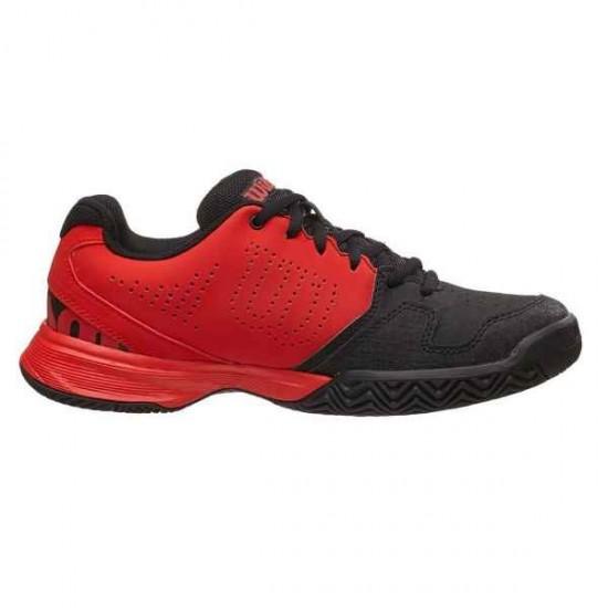 Детски маратонки за тенис Wilson KAOS COMP JR RADIANT.R/BK/RADIANT.R