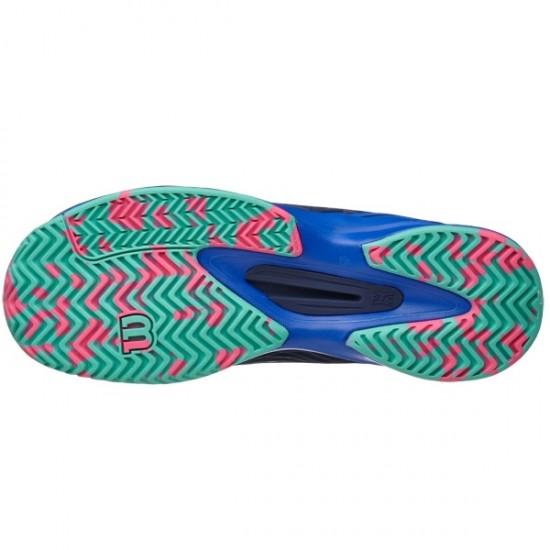 Дамски маратонки за тенис Wilson Kaos W Blue/Pink