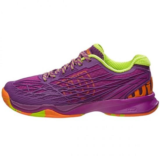Дамски маратонки за тенис Wilson Kaos W Pink/Green