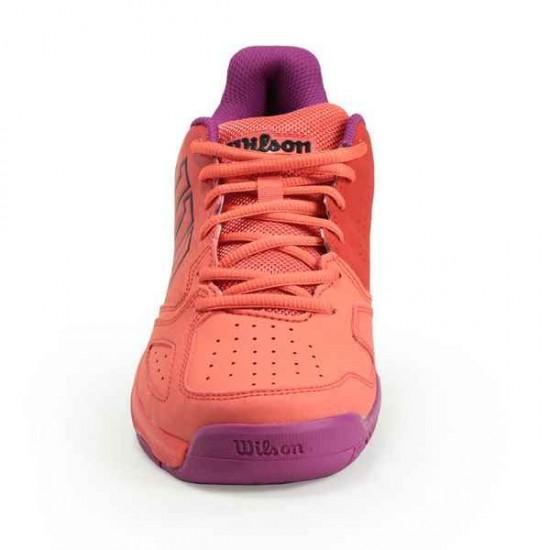 Детски маратонки за тенис Wilson KAOS COMP JR RADIANT.R/CORAL PUNC/PK