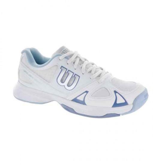 Дамски маратонки за тенис Wilson RUSH EVO W Wh/Wh/Stonewash