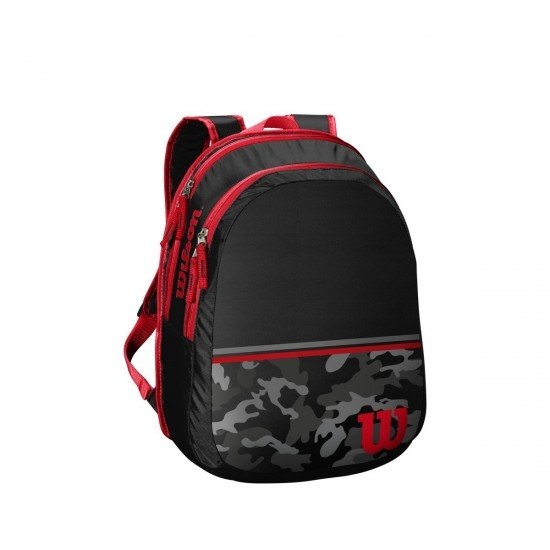 Детска раница Wilson Backpack - Black Red